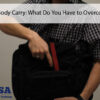 off body carry holster