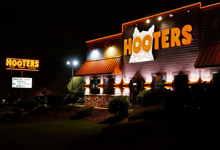 hooters gun policy