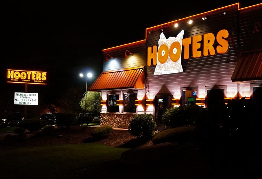 hooters gun policy