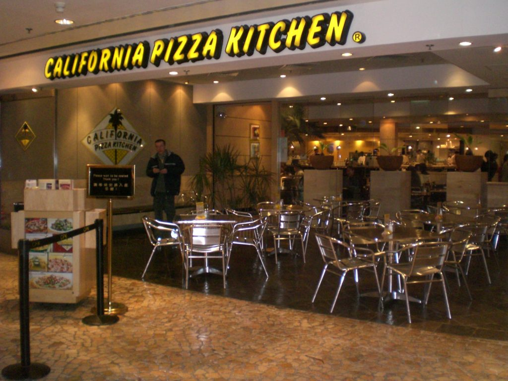 California Pizza Kitchen Restaurant Locations