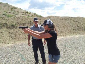 Beginner gun training