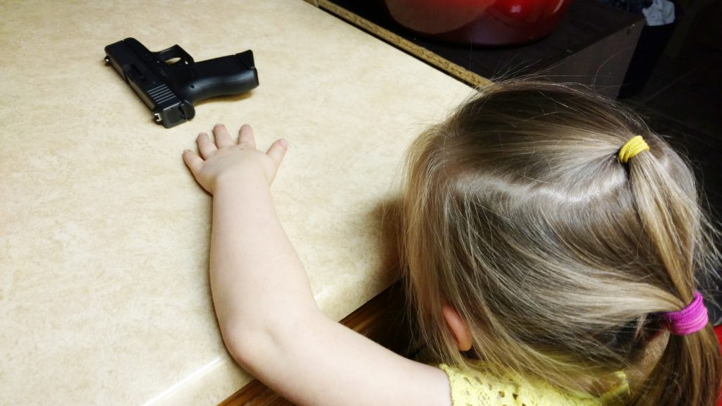 Children and guns
