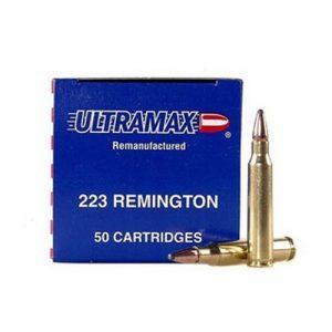 Ultramax 223 Remington Remanufactured 55 Grains, Soft Point