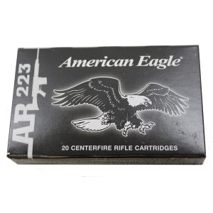 Federal Cartridge 223 Remington 55 Grain Full Metal Jacket