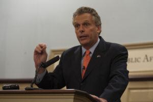 Terry McAuliffe virginia gun legislation
