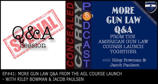 more gun law qa
