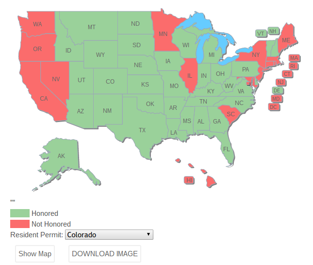 How to Download your State\'s Concealed Carry Reciprocity Map ...