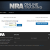 NRA Online Training  Login to the site