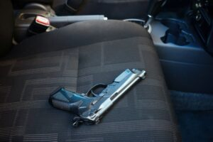 rights to Gun in car