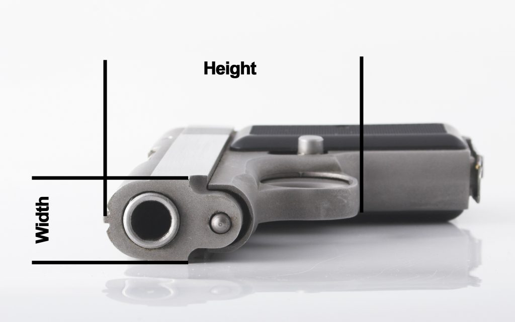 measuring size of pants for concealed carry