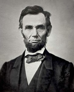 President Abraham Lincoln ordered the largest gun confiscation in American History with his Confiscation Act.