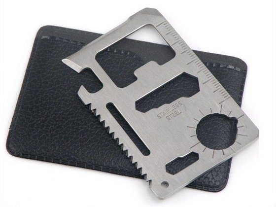 Wallet Size Stainless Steel Multi Tool Concealed Carry Inc
