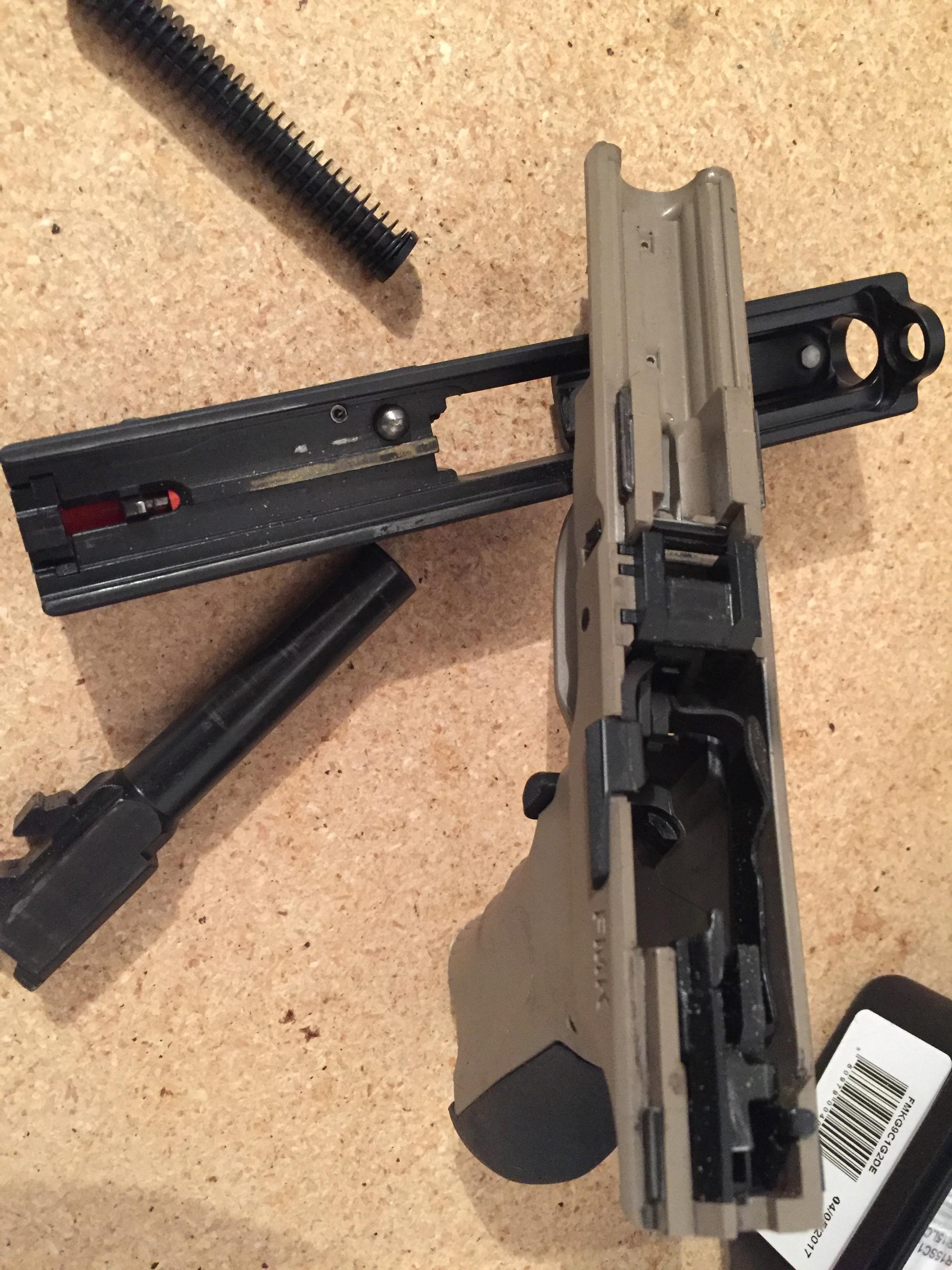 FMK 9C1 9mm compact handgun