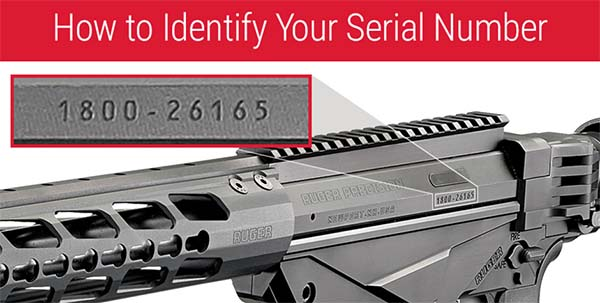 Ruger rifle recall