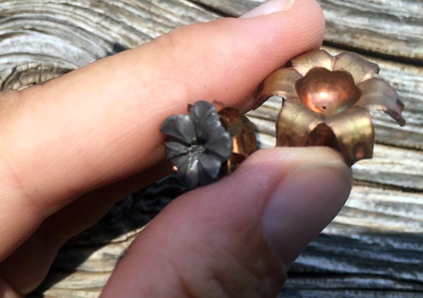 mushroomed hollow point