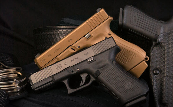 new from glock glock 45 and two gen 5 mos pistols concealed carry inc