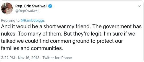 swalwell nuclear tweet