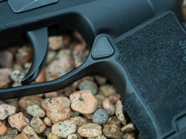 Sig Sauer P365 Trigger Guard Undercut
