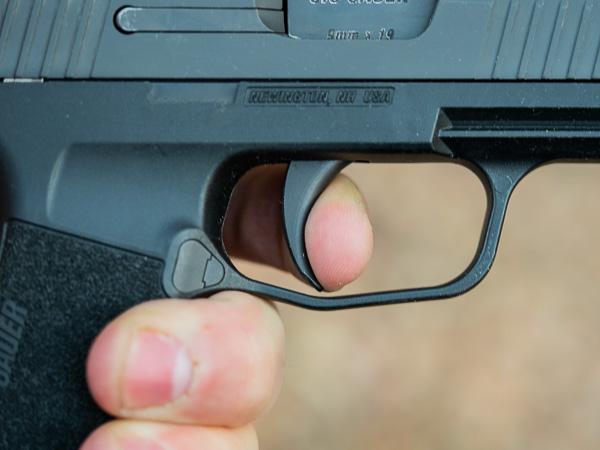 Sig Sauer P365 Trigger Press