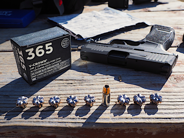 P365 With SIG 365 V-Crown Ammo