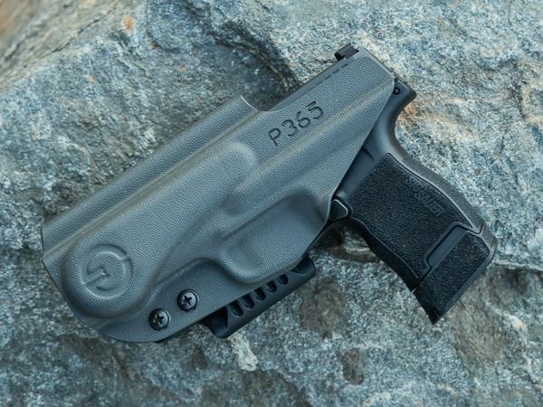 P365 in GrayGuns Holster Backside