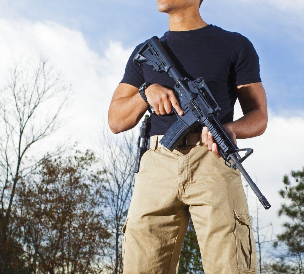 North Carolina AR-15 Shooting
