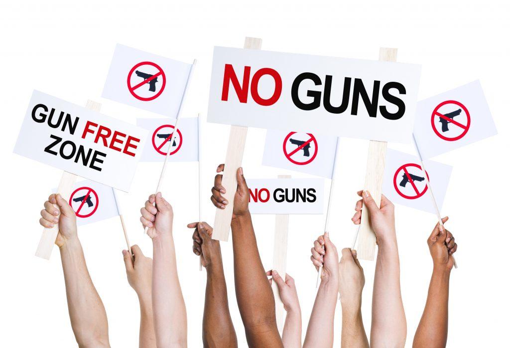 Gun Free Protest