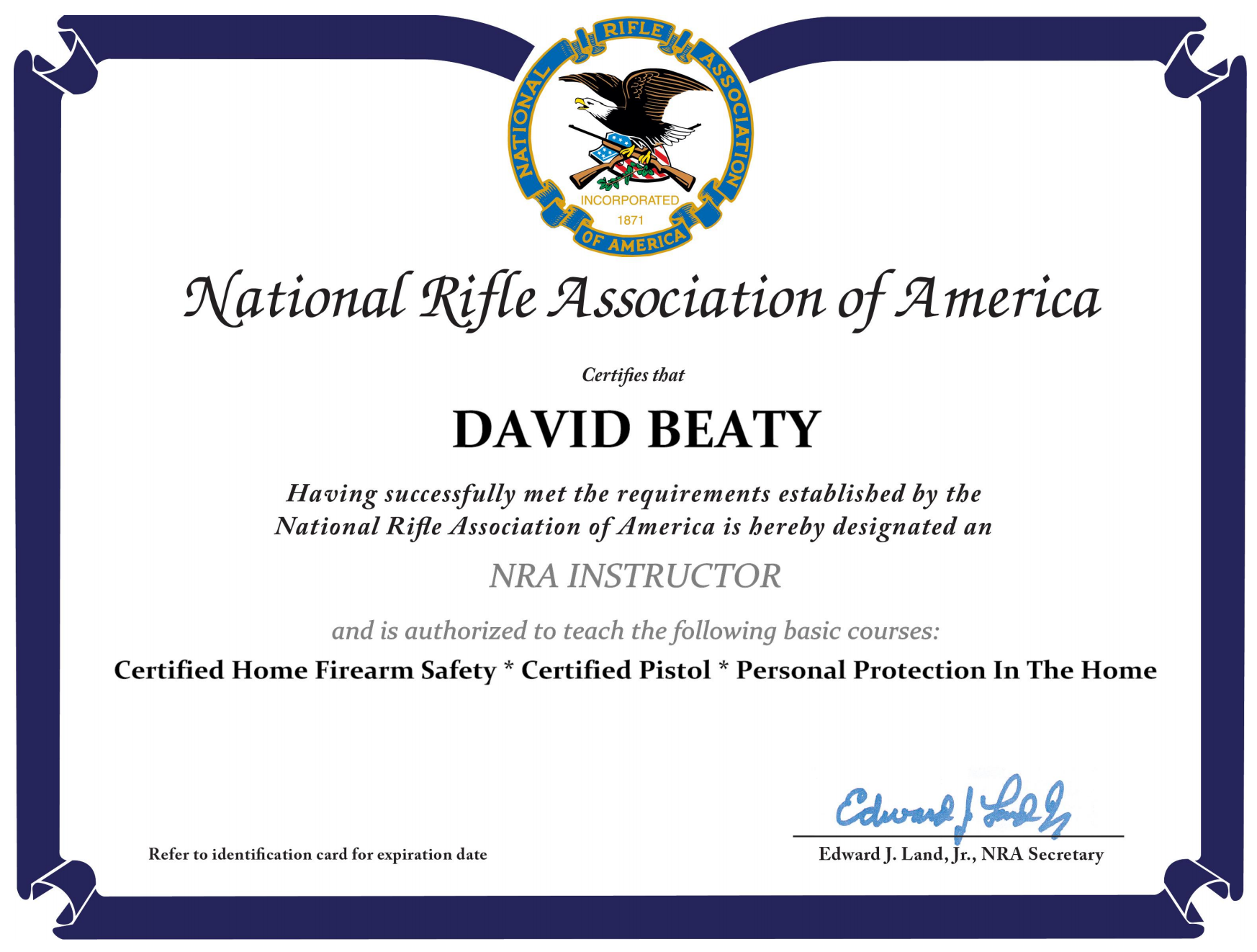 David beaty new mexico concealed carry classes and resources david beaty nra instructor 1betcityfo Images