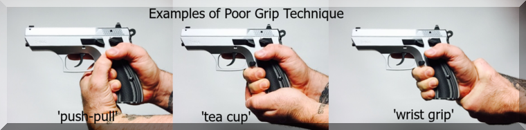 poor grip