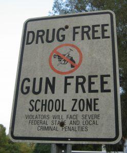 gun free school zone texas tx