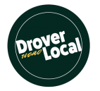 Logo for the Drover Local program.