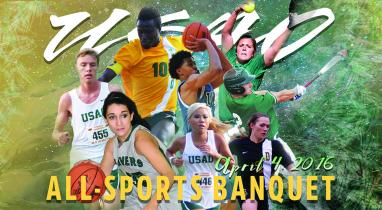 USAO All Sports Banquet April 4 at 6 p.m.