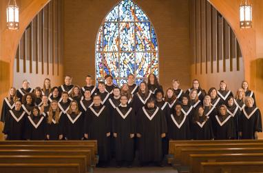 Picture of the USAO Concert Choir.