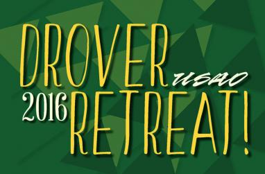 Graphic for Drover Retreat 2016.