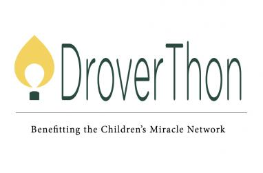 Graphic for the 2016 Droverthon, a dance marathon benefitting the Children's Miracle Network.