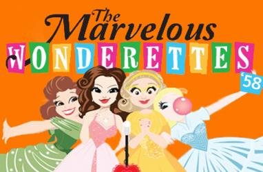 Graphic for the Marvelous Wonderettes.