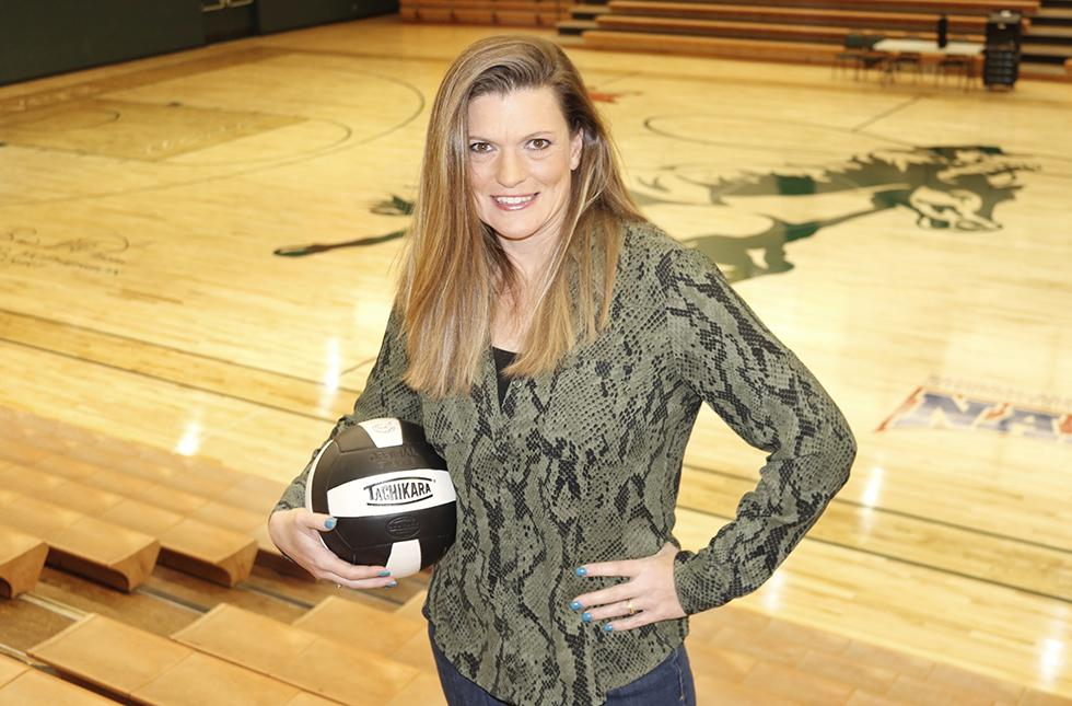 Picture of Sheri Deily, USAO's women's volleyball coach.