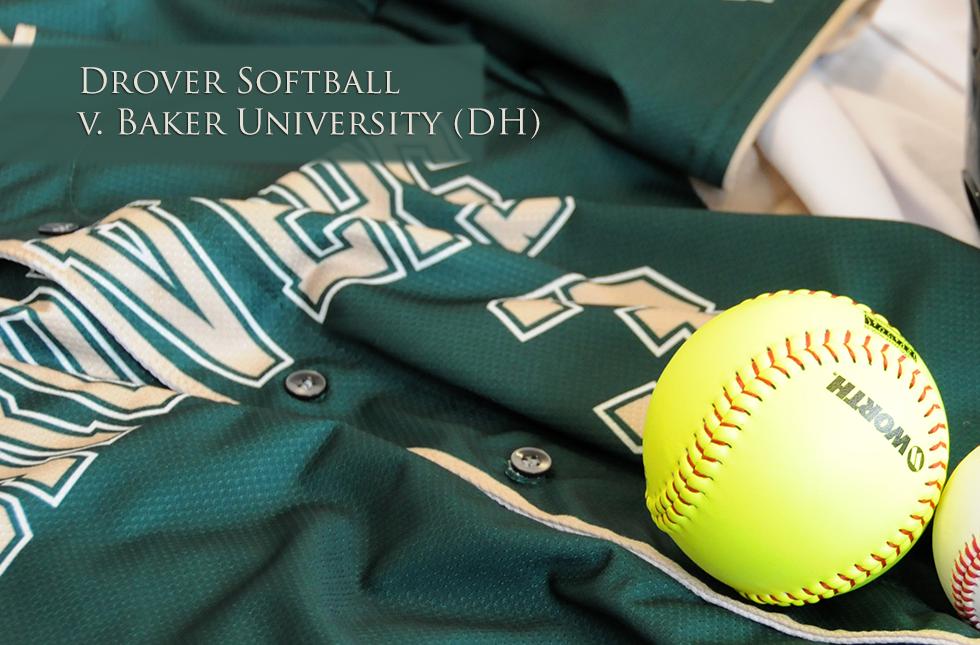 Drover Softball v. Baker Univ.