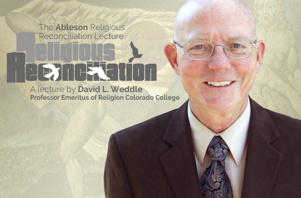 Graphic for the Ableson Religious Reconciliation Lecture