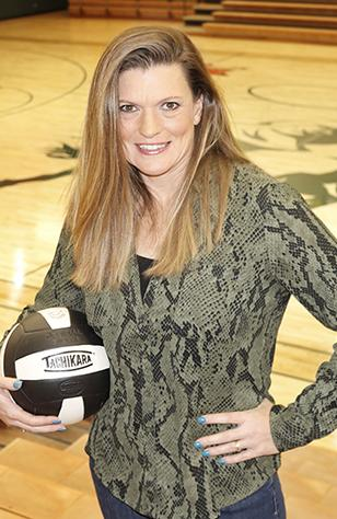 Picture of USAO volleyball coach, Sheri Deily.