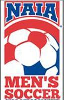 NAIA soccer logo.