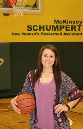 McKinsey Schumpert is new basketball assistant coach