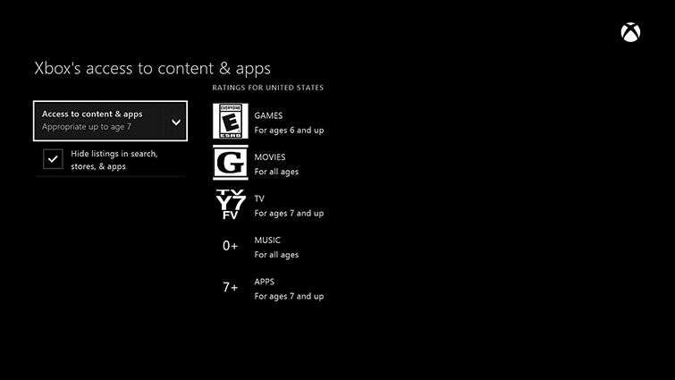 How to enable Parental Controls on Xbox One and PS4   Boomerang