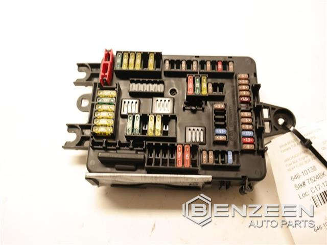 Used 2015 BMW 335i STD Fuse Box - Benzeen Auto Parts