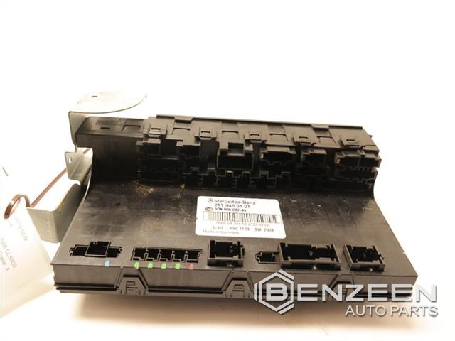 used 2006 cls500 cls500 fuse box, cabin - photo #2