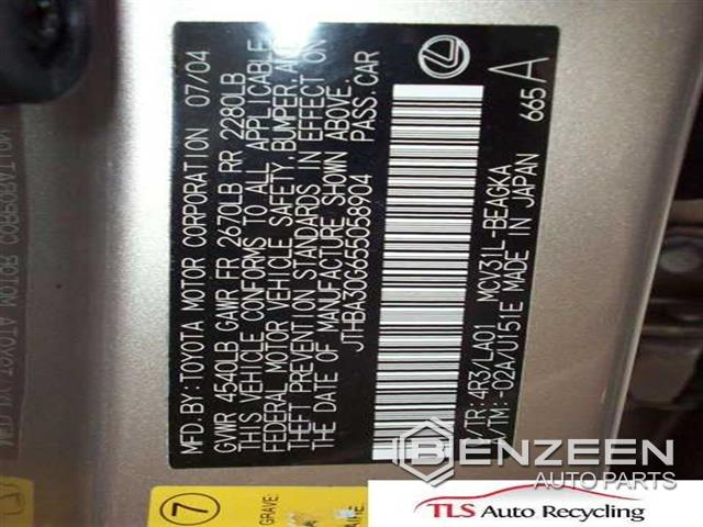 Lexus ES 330 2005 - 100135