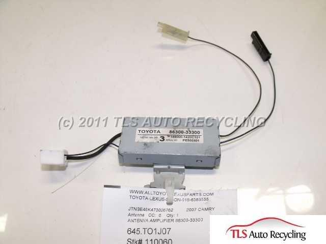 Used 2007 Toyota Camry Leantenna
