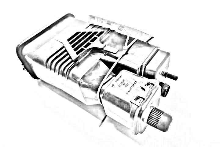 2006 Bmw 530i Fuel Vapor Canister  FUEL VAPOR CANISTER 16137162350
