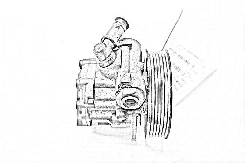 2013 Volkswagen Passat Ps Pump/motor  W/O SERVOTRONIC, (2.5L)
