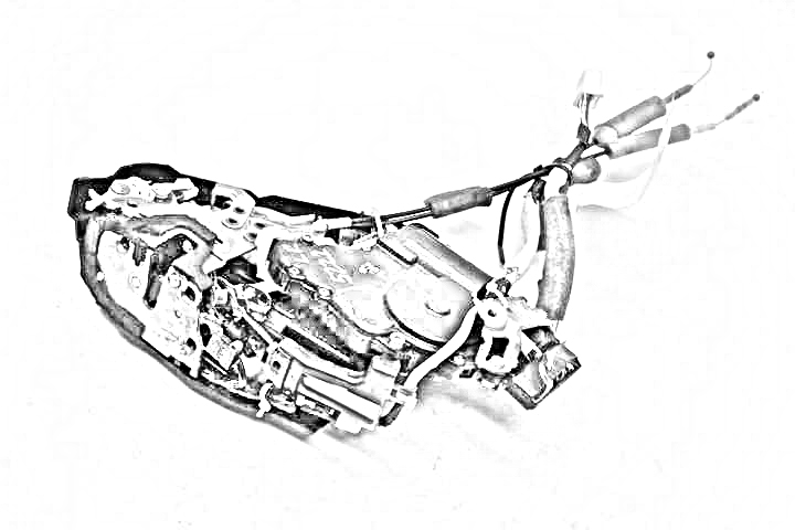 2011 Land Rover Lr4 Lock Actuator  RH FRONT DOOR LOCK ACTUATOR